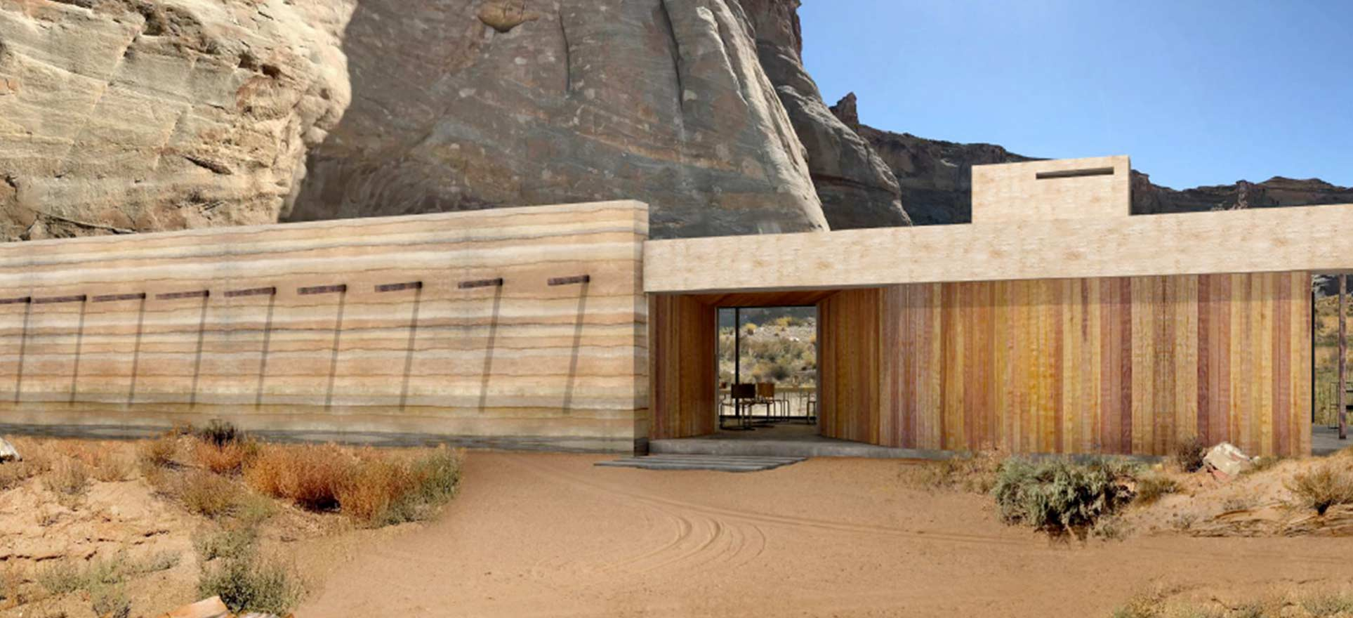 more rammed earth concepts